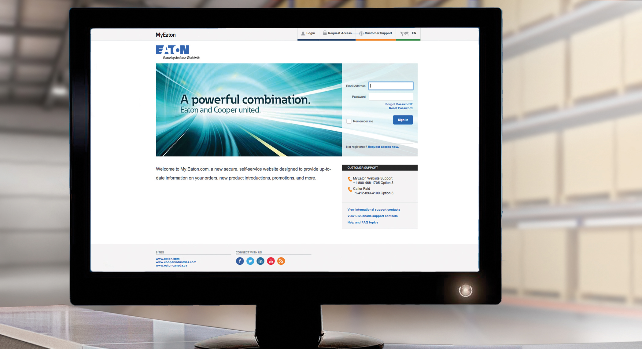 Eaton's new web tool helps its distributors improve productivity, demonstrate leadership and increase sales. (Photo: Business Wire)