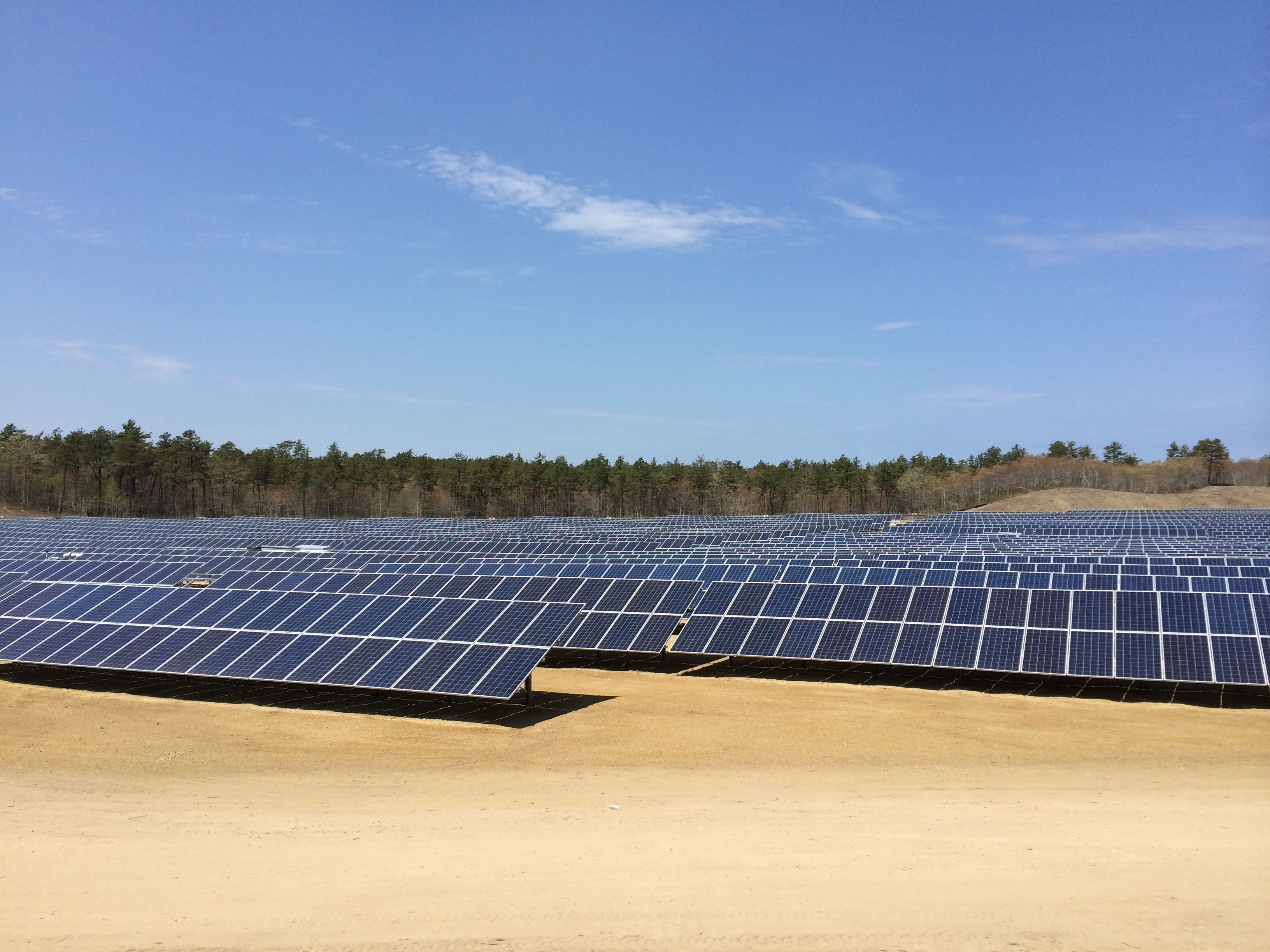 Lepomis Solar Project generates clean energy for the Town of Wareham Massachusetts. (Photo: Business Wire)