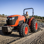 Kubota's all new MX5200 combines several upgrades with many of the powerful and versatile features inherited from previous MX-Series models, to deliver greater power and performance in an affordable mid-size utility tractor. (Photo: Business Wire)