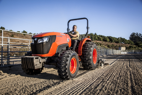 Kubota's all new MX5200 combines several upgrades with many of the powerful and versatile features i ...