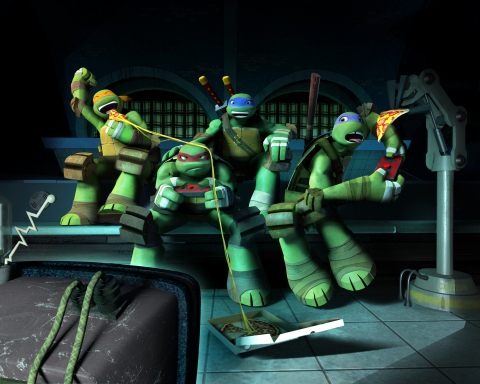 Nickelodeon Greenlights Season Four of Teenage Mutant Ninja Turtles with 20-Episode Pickup (Photo: Business Wire)