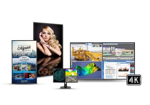 Planar's UltraHD (4K) Displays (Photo: Business Wire)