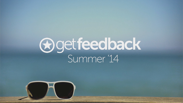 GetFeedback.com Summer '14 - Welcome to the Future of Customer Survey Software