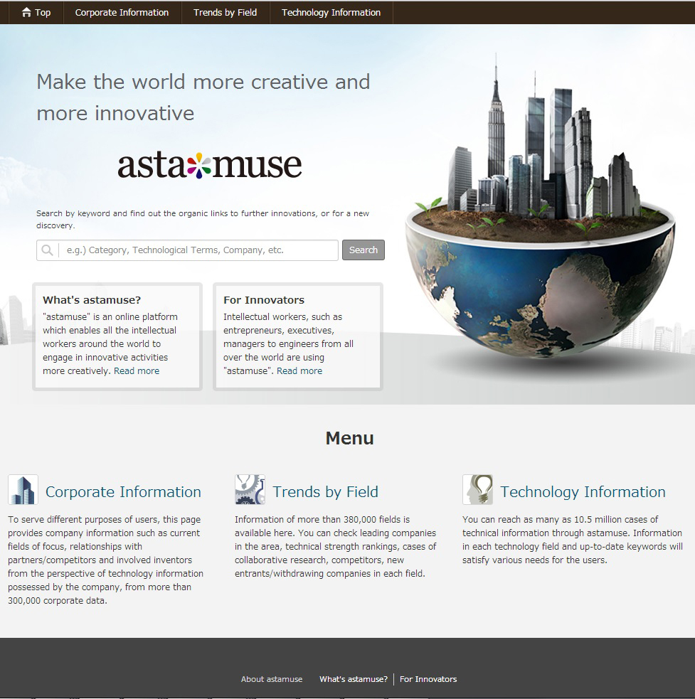 astamuse (Graphic: Business Wire)