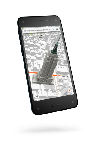 Fire, the First Smartphone Designed by Amazon (Photo: Business Wire)
