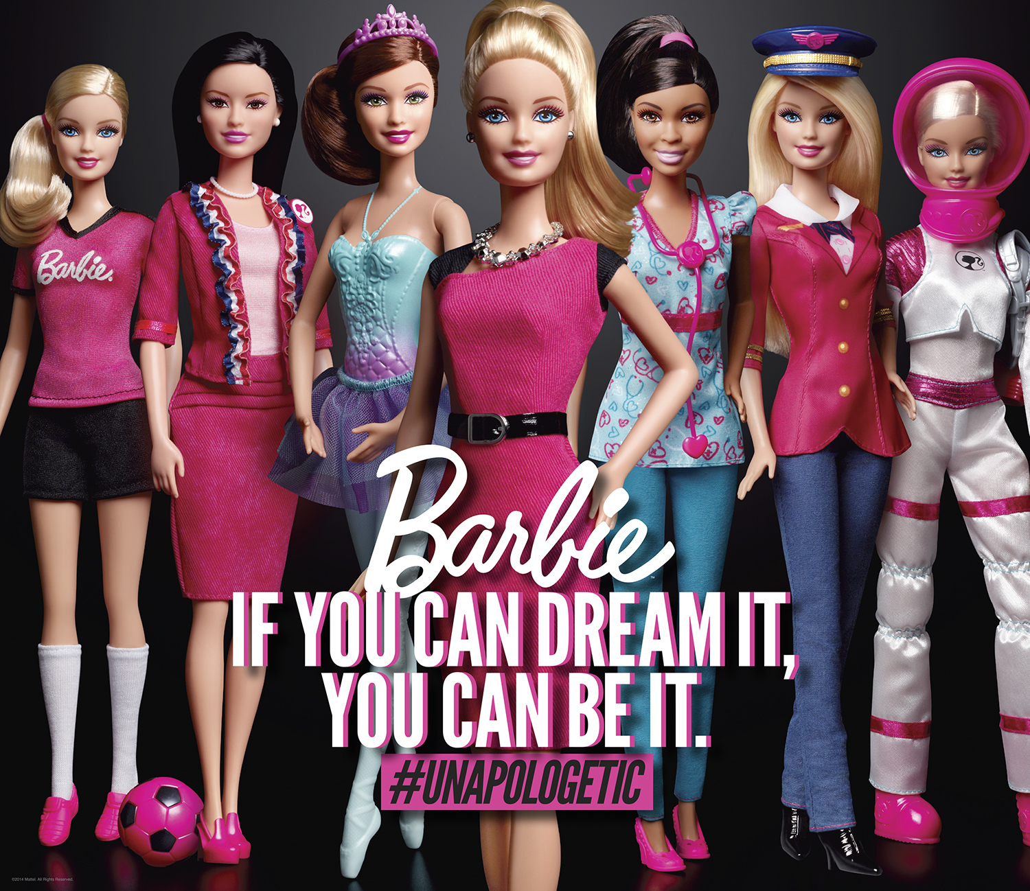 With 150+ careers, Barbie® has always encouraged girls that if you can dream it, you can be it. With the launch of Entrepreneur Barbie®, available now, she is blazing trails along with other female leaders who are proud to be the boss. (Photo: Business Wire)