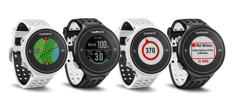 Introducing the Approach S6 golf watch with first-of-its-kind swing metrics and full-color mapping. (Photo: Business Wire)