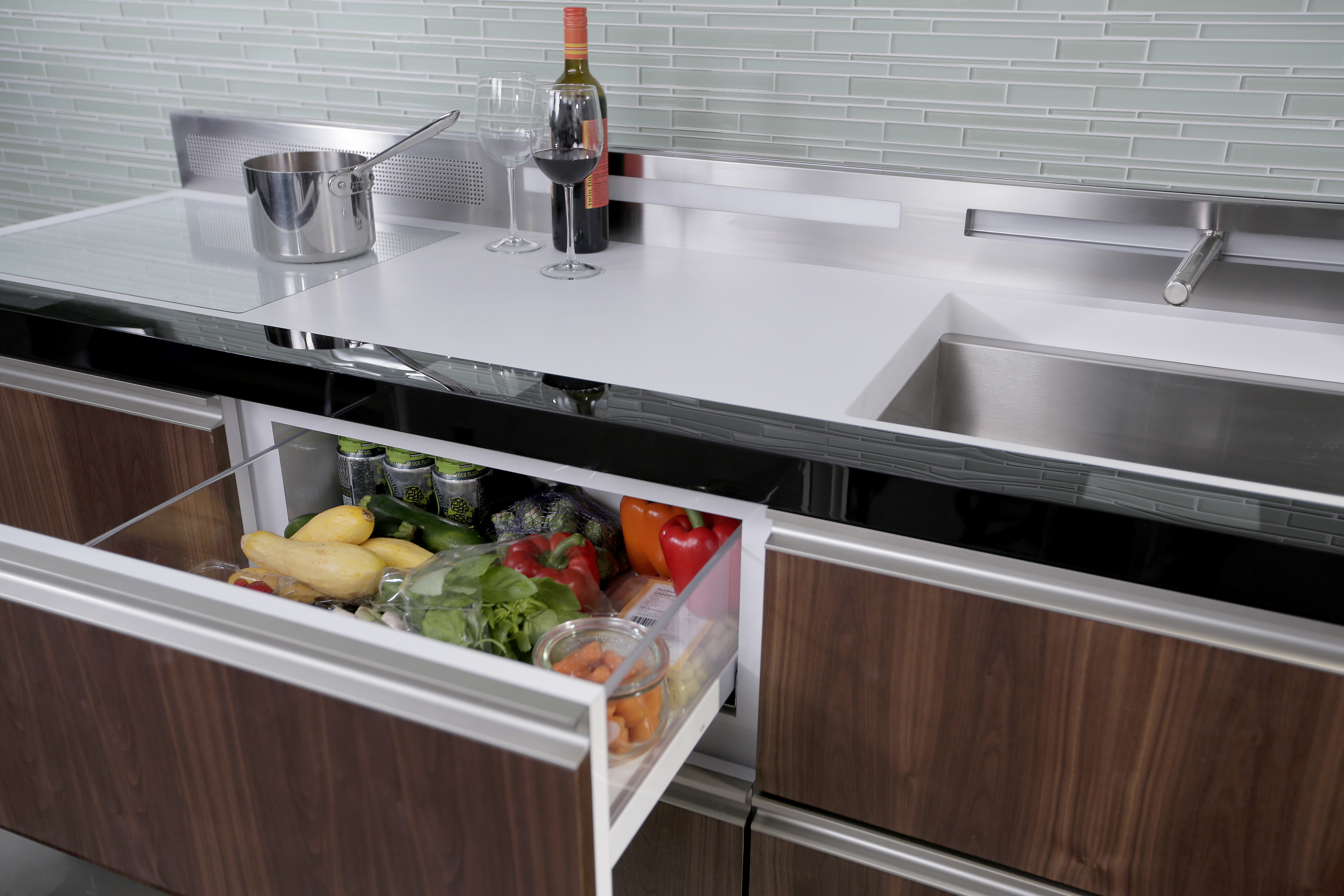 Micro Kitchen Design Debut Ge Lifts The Curtain On Micro Kitchens And Luxury