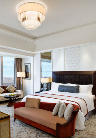 Grand Deluxe Room at The St. Regis Chengdu (Photo: Business Wire)