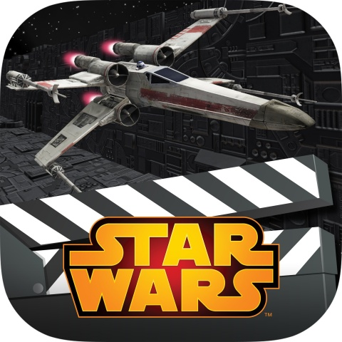 """Star Wars Scene Maker"" is a new line of creativity apps that gives kids and Star Wars fans of all a ..."