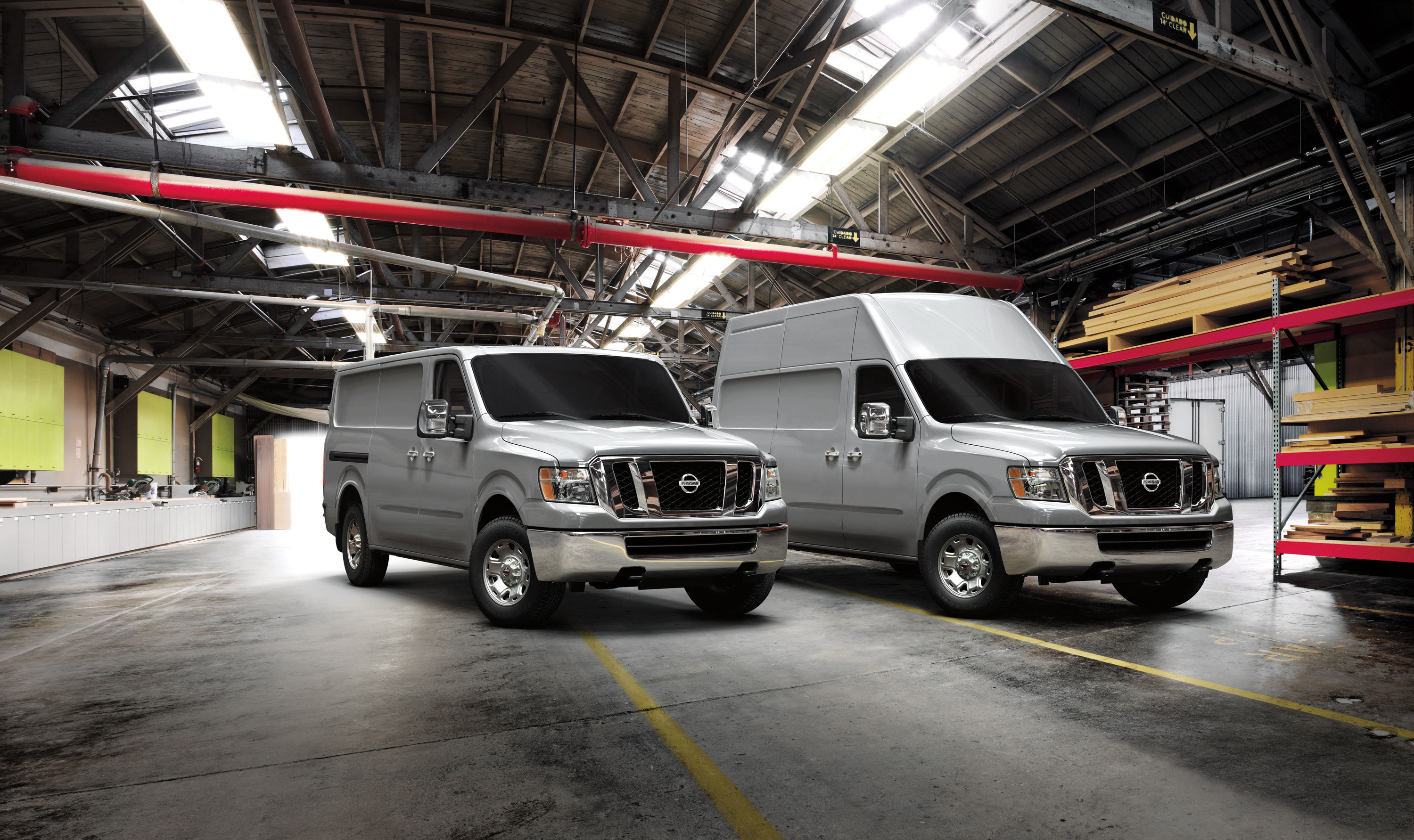 Nissan NV3500 (Photo: Business Wire)