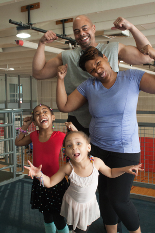Families have fun, and get fit with the Fit Family Challenge in South Carolina. (Photo: Business Wire)