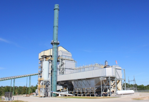 The Aspen power plant uses locally sourced clean wood-waste biomass as its fuel supply. The plant is managed by InventivEnergy and will be operated by NRG ENergy Services. (Photo: Business Wire)