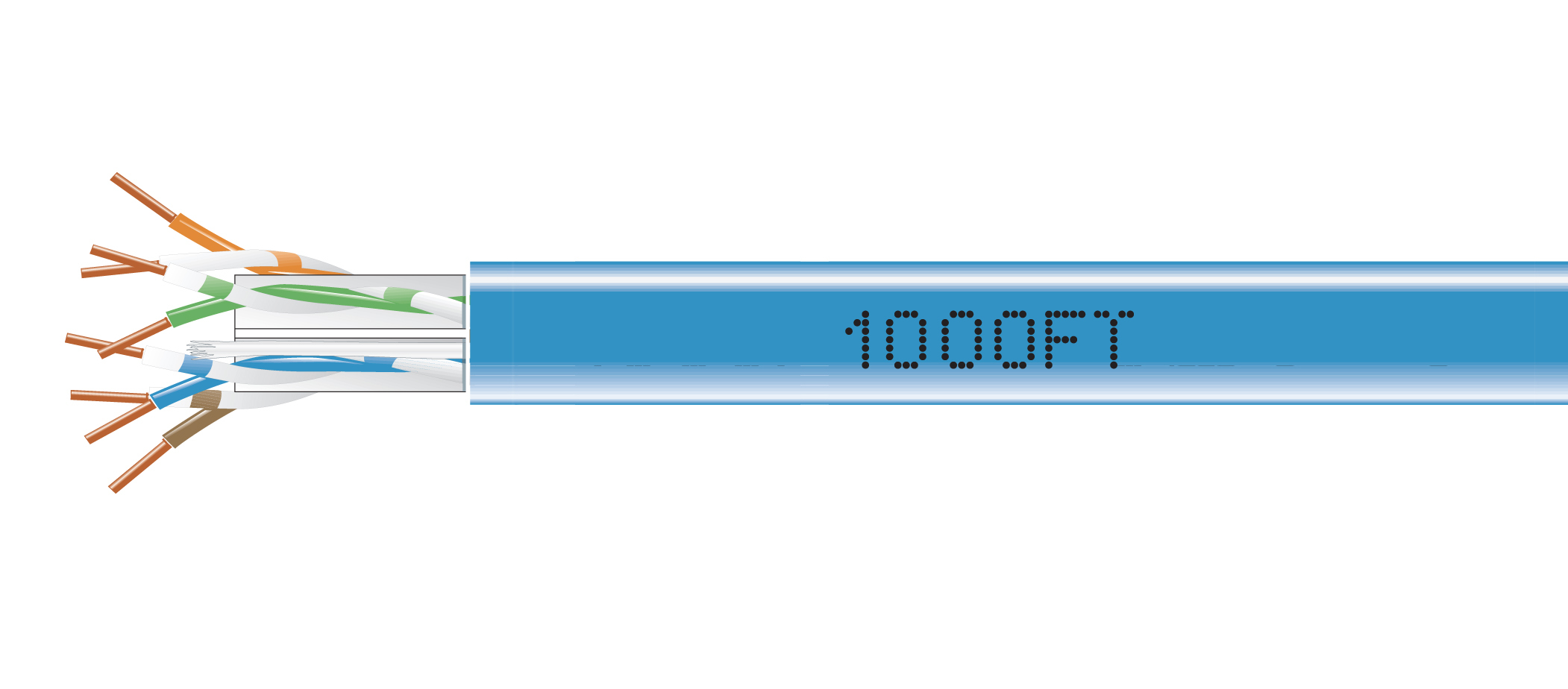 Black Box offers the largest selection of HDBaseT™ Recommended cables in the industry. (Photo: Business Wire)