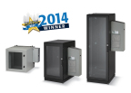 Award-winning ClimateCab environmentally-controlled cabinets are the solution for users who need to house servers or IT equipment outside the data center. (Photo: Business Wire)