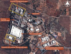 Satellite imagery of potential nuclear enrichment plant near Mysore, India (c) IHS Inc.