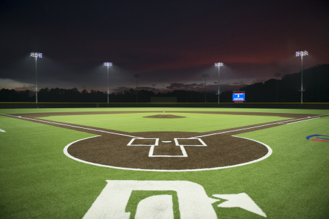 Musco's LED lighting solution delivers unparalleled light control at LakePoint Sporting Community. (Photo: Musco Lighting)