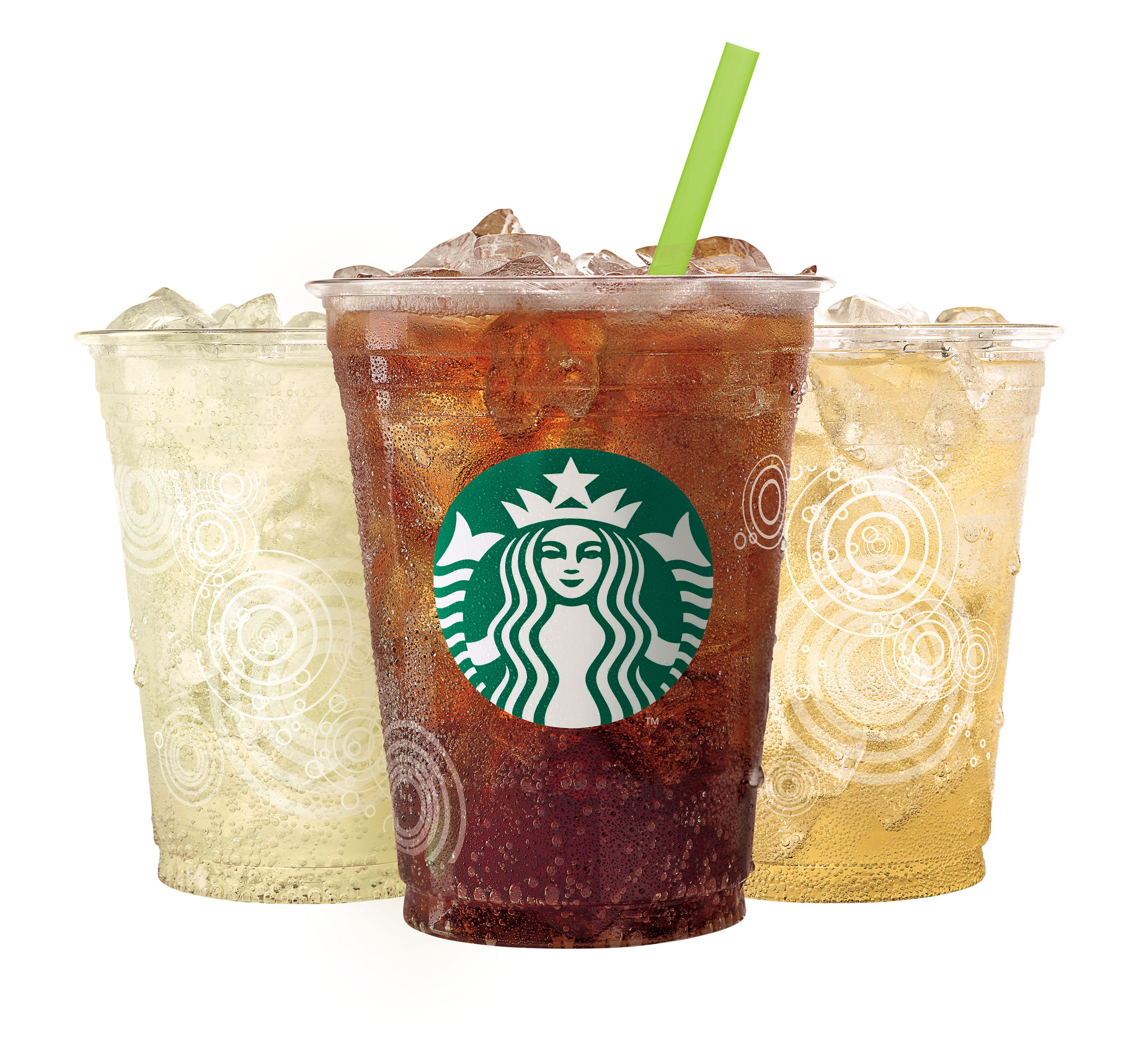 Fizzio™ Handcrafted Sodas are carbonated fresh and debut in select stores in three classic flavors with a Starbucks twist - Spiced Root Beer, Golden Ginger Ale and Lemon Ale. (Photo: Business Wire)