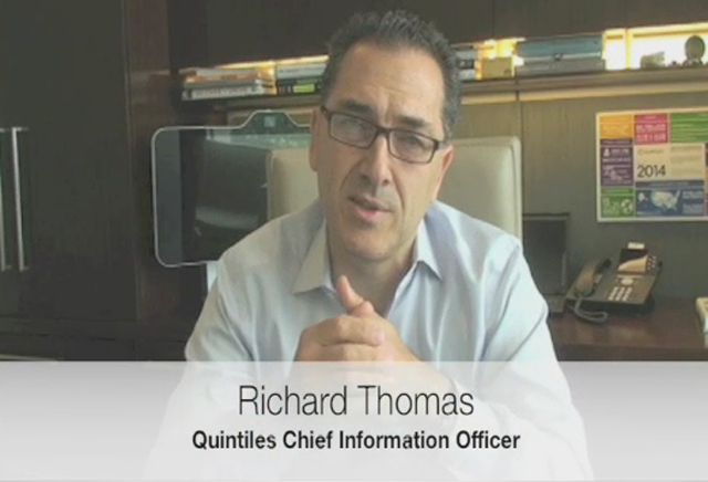 Quintiles CIO Richard Thomas discusses Quintiles being named a Computerworld Best Place to Work in IT.