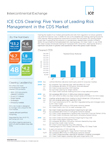 ICE CDS Clearing: Five Years of Leading Risk Management in the CDS Market (Graphic: Business Wire)