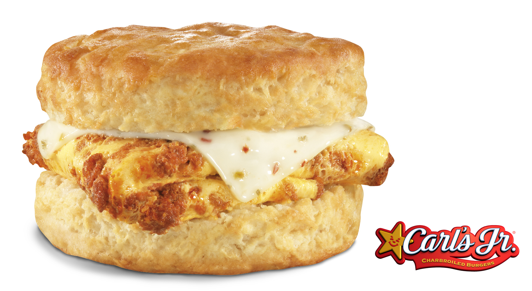 The new Made from Scratch™ Chorizo, Egg & Cheese Biscuit, now available at Carl's Jr. (Photo: Business Wire)