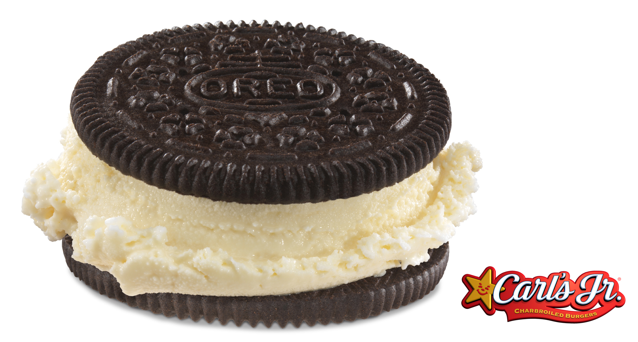 The popular OREO® Cookie Ice Cream Sandwich returns to Carl's Jr. in time for summer. (Photo: Business Wire)