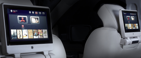 """Mitsubishi Electric Automotive America has introduced its new FLEXConnect™ in-vehicle infotainment system featuring its """"any media on any screen"""" capability (Photo: Business Wire)"""