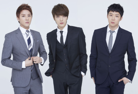 JYJ, a Korean boyband, was appointed as a promotional ambassador for the 7th World Water Forum (Phot ...