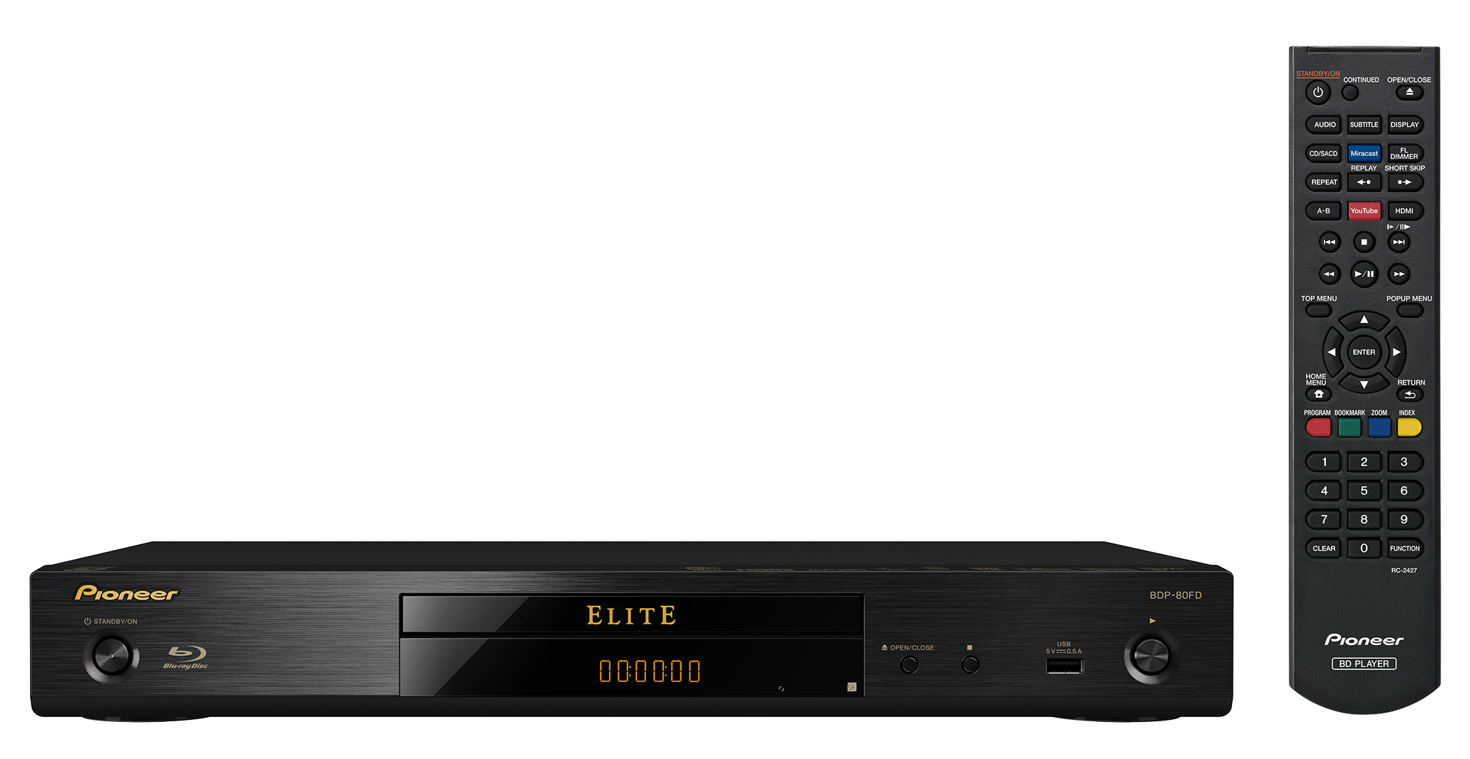 Elite BDP-80FD Blu-ray Disc Player (Photo: Business Wire)