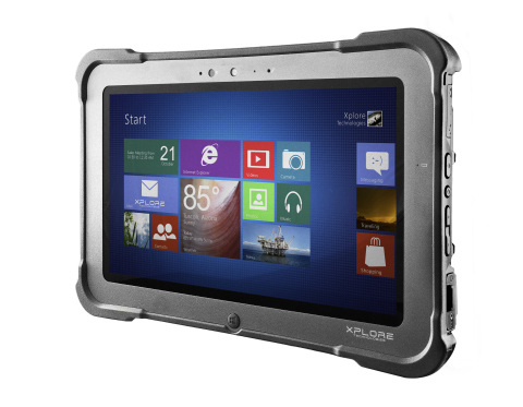 Xplore Technologies introduces the Bobcat, its thinner, lighter, fully-rugged Windows Tablet. (Photo ...