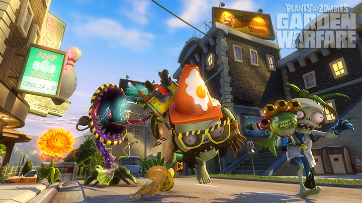 Plants Vs Zombies Garden Warfare Is Now Available On Pc Ea Press Room