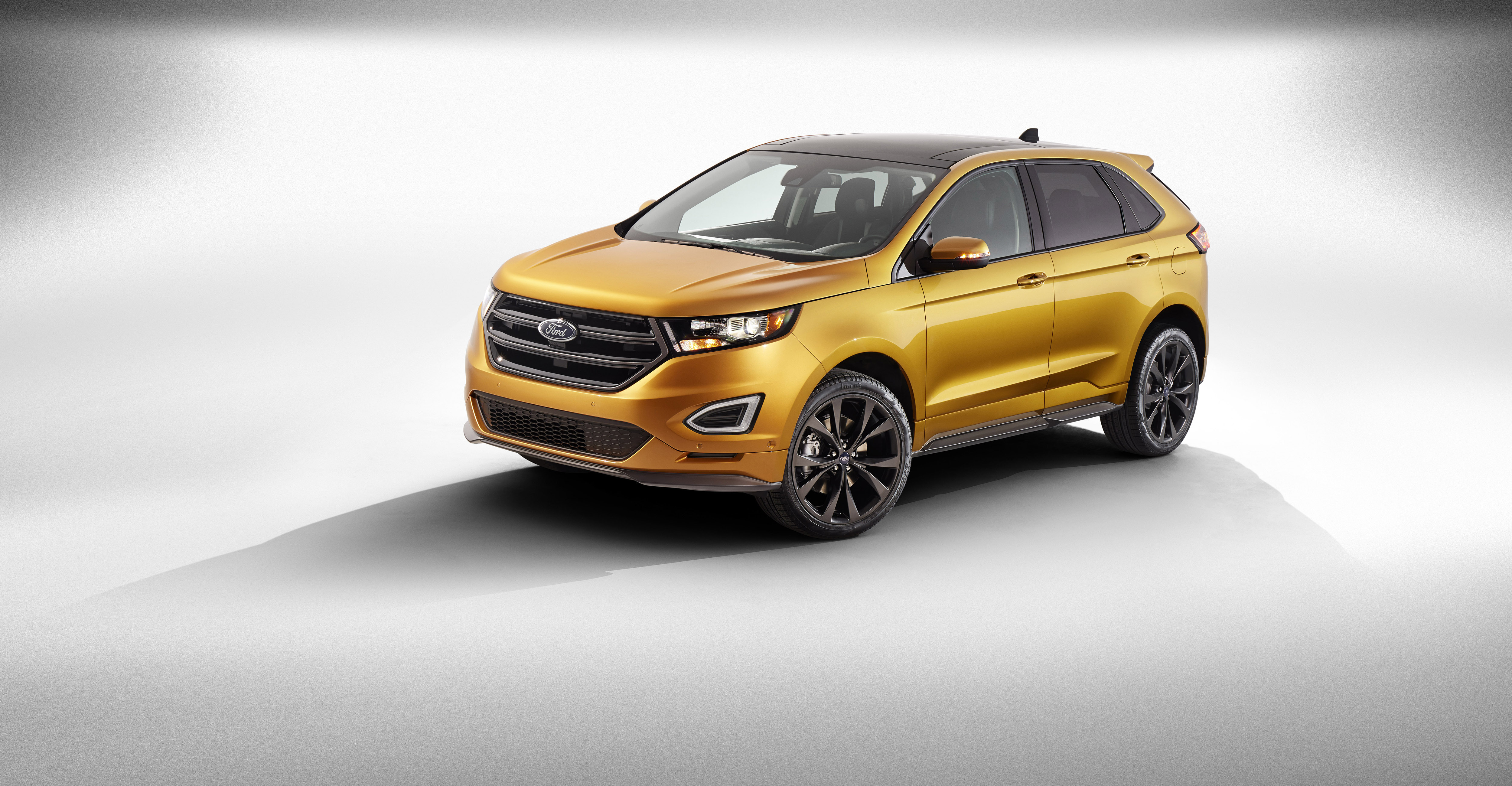 All-new Ford Edge is a showcase of Ford innovation - from a new design that excites to technology that comforts, the all-new Edge sets a new benchmark for Ford utility vehicles. (Photo: Business Wire)