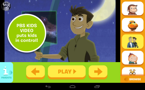The popular PBS KIDS Video App is now available on Android and compatible with Chromecast; the app is the first children's offering available on Chromecast. (Graphic: Business Wire)
