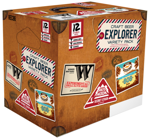 """Craft Brew Alliance Introduces Next Wave of Beers in Summer """"Craft Beer Explorer"""" Variety Pack (Photo: Business Wire)"""