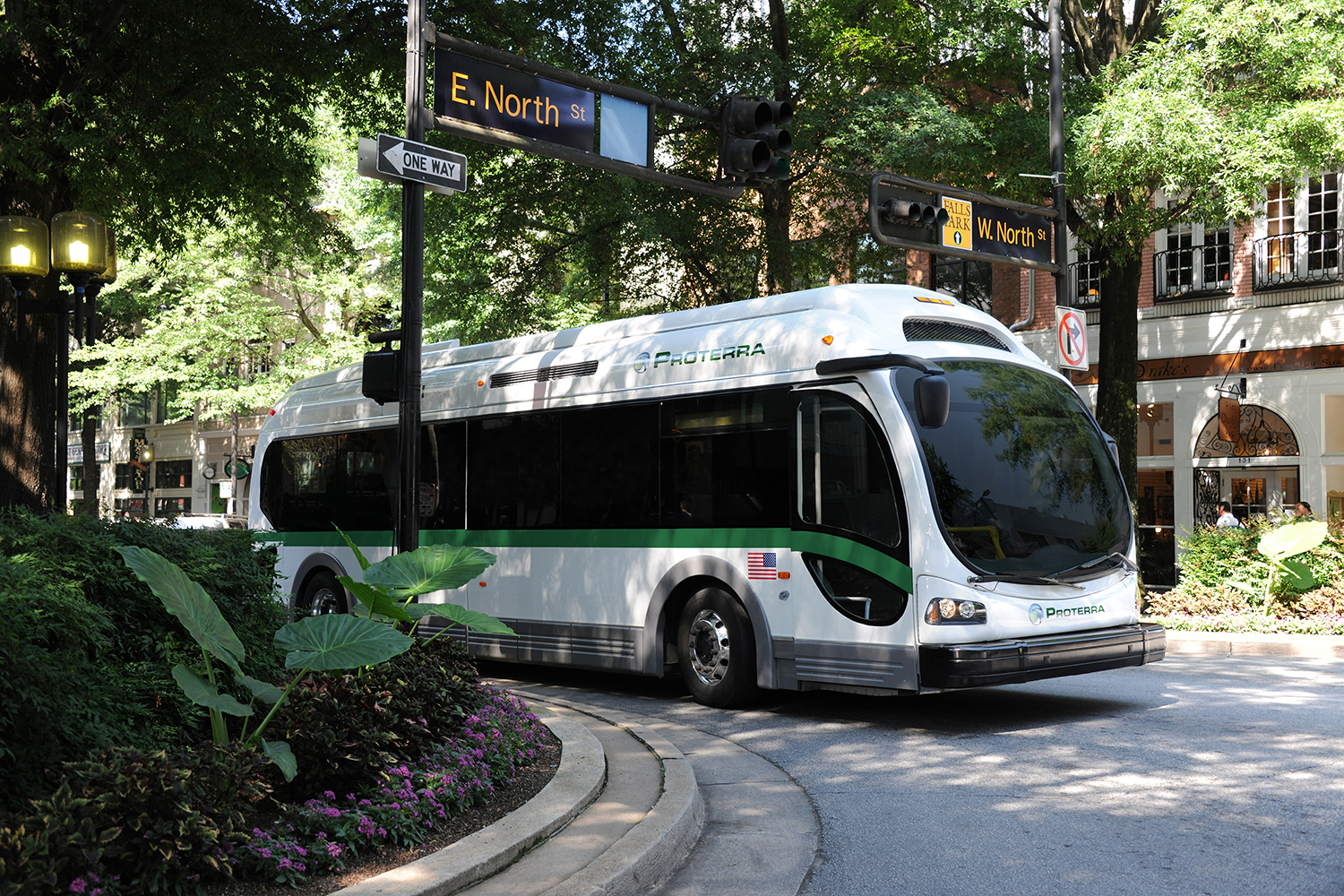 Zero-emissions Proterra EV buses have logged more than 400,000 miles in daily revenue service in cities across the U.S., reducing cities' overall carbon footprint and costs. (Photo: Business Wire)