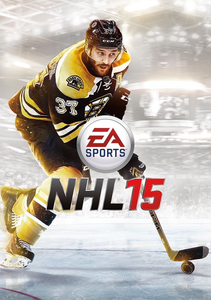 EA SPORTS Announce Patrice Bergeron as Fan-Selected NHL 15 Cover Athlete (Photo: Business Wire)