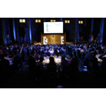 UCLA Anderson School of Management Dean Judy D. Olian helps kick off the 2014 Gerald Loeb Awards in NYC. (Photo: Business Wire)