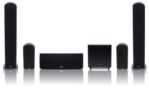 Andrew Jones Designed Elite Speakers (Photo: Business Wire)