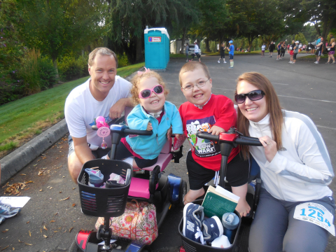 Smiles abound at the Columbia Winery Run & Walk! (Photo: Business Wire)