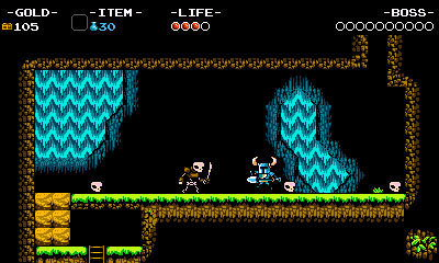 The Nintendo 3DS version of Shovel Knight will feature both stereoscopic 3D and an exclusive Battle Arena mode using StreetPass (Photo: Business Wire)