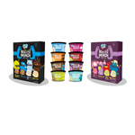 Dot Monster Munch(TM) ice cream cups are available individually and in 8-cup party packs (Graphic: Business Wire)