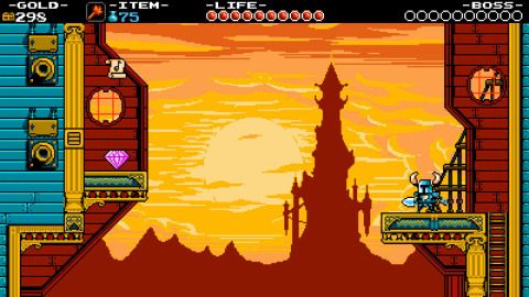 Play as the eponymous Shovel Knight, a small knight with a huge quest: to defeat the evil Enchantress and search for his lost beloved. (Photo: Business Wire)