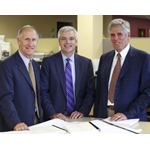 From left: Bob Brustlin, Michael J. Carragher, Rich Hangen  (Photo: Business Wire)