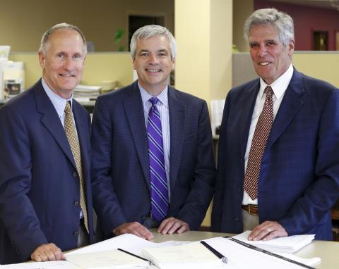 From left: Bob Brustlin, Michael J. Carragher, Rich Hangen  (Photo: Business Wire)