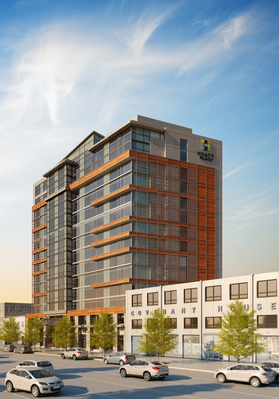 Hyatt Place Washington D.C./U.S. Capitol is situated in the northern portion of the NoMa district, one of the city's fastest growing neighborhoods. (Photo: Business Wire)