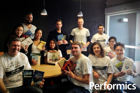 The Performics Melbourne team volunteering at last year's Global Performance Day. #PerformicsHelps ( ...