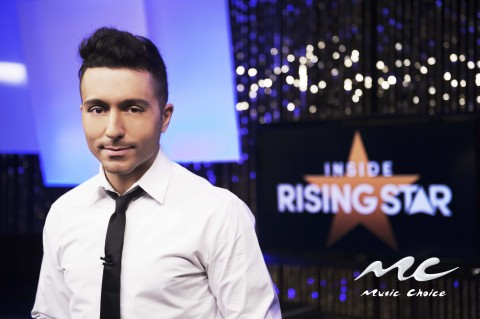 Music Choice Launches Inside Rising Star on Music Choice Play Hosted By Cumulus DJ Ralphie Aversa (Photo: Business Wire)