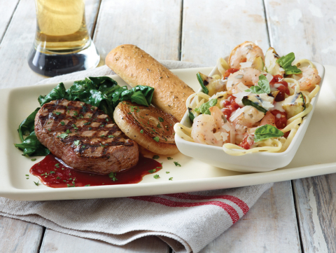 Applebee's Take Two – now available for a limited time – gives Guests the power to pair any two selections from the Applebee's Taste of Summer menu, starting at $10.99. (Photo: Business Wire)