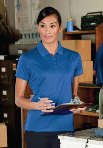 G&K Services has expanded its line of high-performance polo shirts, adding new colors for men as well as introducing a companion offering for women. (Photo: Business Wire)