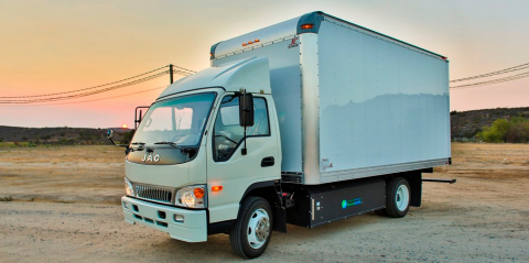 EDI will integrate its PHEV powertrain with a baseline CNG-powered Greenkraft Class-4 medium-duty (14,500 GVWR) truck. (Photo: Business Wire)